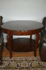 LARGE OVAL ACCENT TABLE