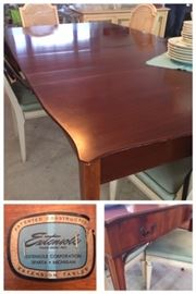 Extensole dining table. Made in Sparta MI