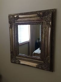 Decorative wall mirror. Frame is not heavy. $20