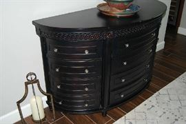 Curved Credenza
