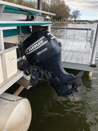 70 horsepower Evinrude Engine