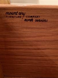 Mount Airy Furniture Company, North Carolina