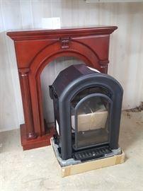 Hearthsense Vent Free Gas Fireplace, 20,000 btu.  NEW