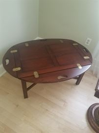 CAPTAINS COFFEE TABLE  $ 50.00