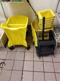 2 Mop Buckets