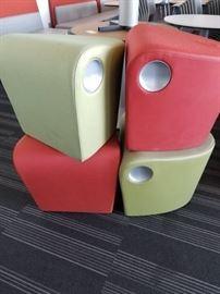 4 Modern Fabric Seats