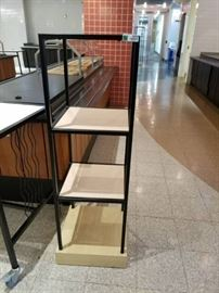 4 Tier Wood and Metal Stand