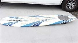 "#55: Wavestorm Foam Surfboard Approx 8 ft x 22"" inches Wavestorm Foam Surfboard Approx 8 ft x 22"" inches"