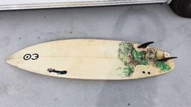 "#56: Surfboard ""EO"" Approx: 6' Ft Long Surfboard ""EO"" Approx: 6' Ft Long"