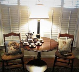Occupied Japan Tea Set,  Knob Creek Pie Crust Table