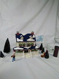 Department 56 snow village