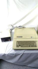 retro apple computer IIe