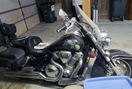 2008 Honda VTX1800 motorcycle, low miles, custom