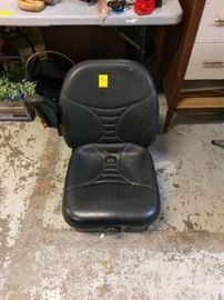 equipment seat for tractor that will accommidate seat sensor.