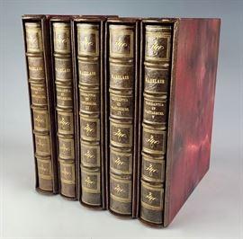 Rare Louis Icart 5 Books of Gargantua & Pantagruel