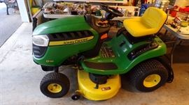 John Deere Mower with approx 79 miles on it