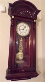 Howard Miller Wall Clock, with a beautiful sounding chime