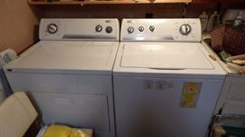 Whirlpool Washer and Dryer in good condition