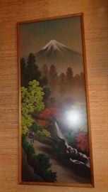 Oriental Framed Print