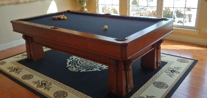 Phenomenal pool table with drawer for cues,etc.