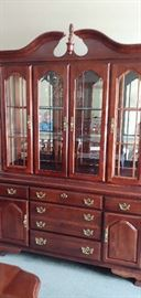 Lovely China cabinet by American Drew