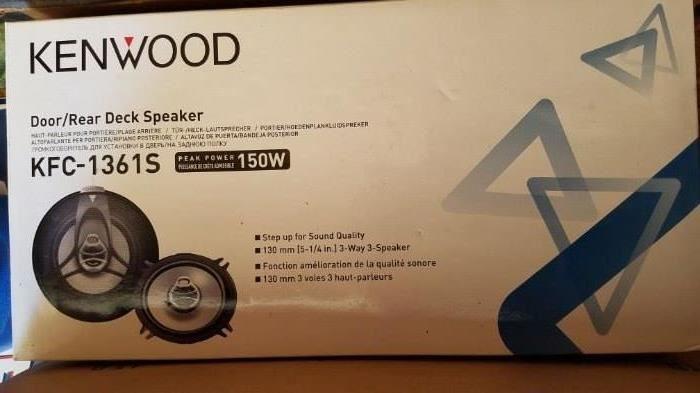 Unused-Kenwood Rear Deck Speaker