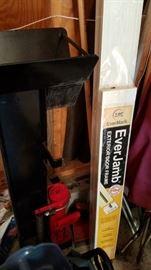 Ironton Vertical Wood Splitter and Everjamb Exterior Door Frame