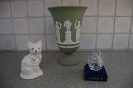 Belleek, Wedgwood & Faberge