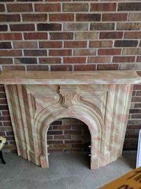 Cast Iron Fireplace Mantle