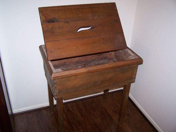 Antique Texas storage box