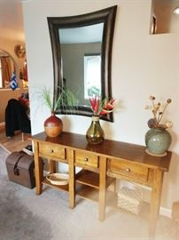 Living Room:  Large Mirror