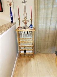 Dining Room: Wine Rack