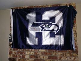 TV Room: Large #12 Flag