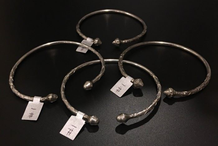 Sterling silver bracelets, 50% off original prices!