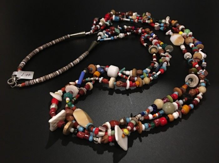 Multi-stone necklace, 50% off original price!
