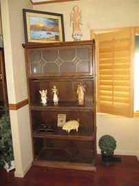 Reproduction lawyers bookcase