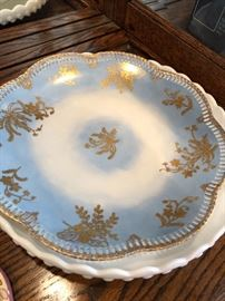Antique dishware