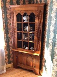 Magnificent Corner Cupboard