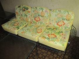 Vintage Patio Sofa