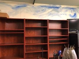Bookcases purchased for a fortune - come get organized at great prices