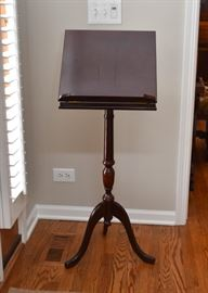 Pedestal Dictionary / Book / Music Stand