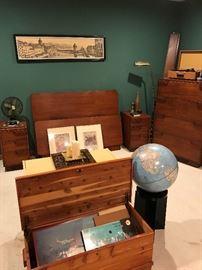 Small cedar chest