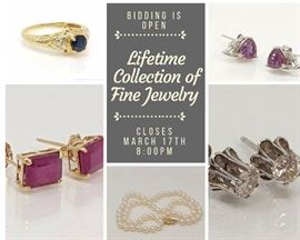 Lifelong Collection of Fine Jewelry