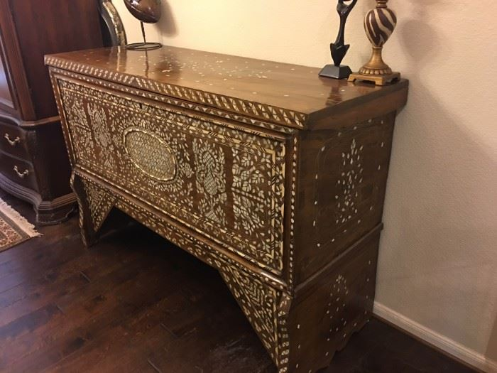Syrian 19th Century Dowry Chest