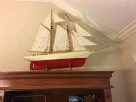 Model Ship from Norway