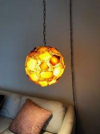 Great Mid Century Modern Hanging Light!