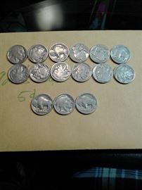 1920s Buffalo Nickels