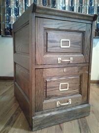 2 Drawer Adj. File Cabinet