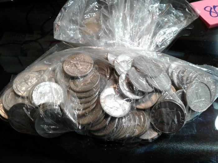 1940s, 1950s and 1960s Quarters