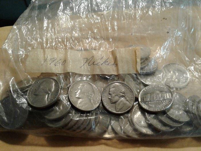 1960s Nickels